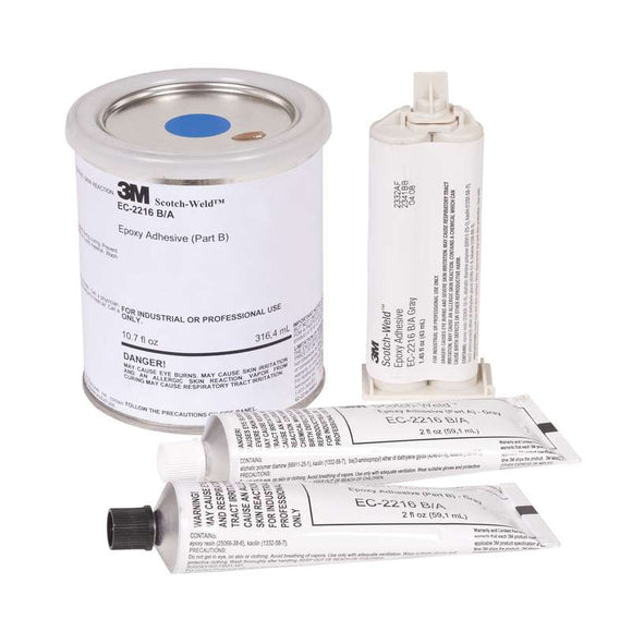 3M Scotch-Weld Aerospace EC-2216  B-A High Performance Flexible Cold-Resistant Shock Resistant 90-Minute Set Epoxy