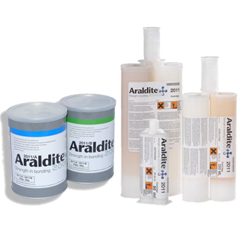 Huntsman Araldite 2011 Slow-Setting All-Purpose Epoxy - Variety of Packaging Sizes