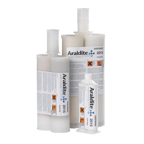 Huntsman Araldite 2015-1 Toughened Epoxy Gel for SMC & GRP (fiberglass) and bonding 2 different surfaces