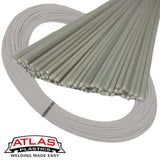 Atlas Plastics - ABS Natural (Off-White) Plastic Welding Rods, Coils & Reels
