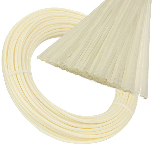Atlas Plastics - HDPE Natural (Off-White) Plastic Welding Rods, Coils & Reels