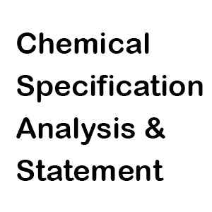 Chemical Specification Analysis Report