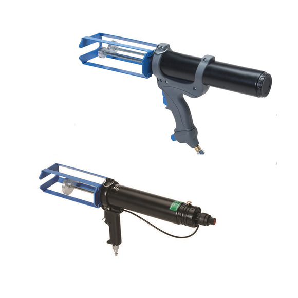 Cox Airflow VBA 200B MR Pneumatic 2-Part Adhesive Dispensers  for 200ml Multi Ratio (1:1, 2:1, 4:1, 10:1) Cartridge Sizes (A200LPMR)