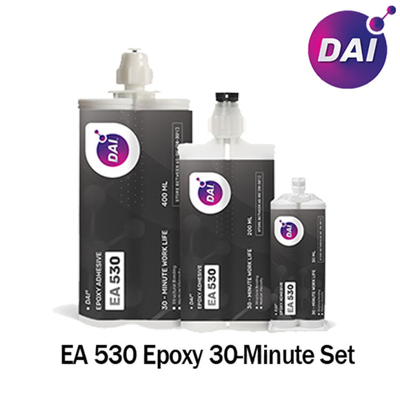 DAI Epoxy EA 530 - Medium Set 30-Min Epoxy-Medium Viscosity Clear-1:1 ratio