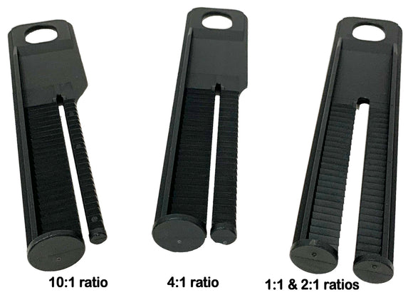MixPac Plungers for DMA50 & DMA51 Dispensers (PLA series, All ratios - 1:1, 2:1, 4:1, 10:1)