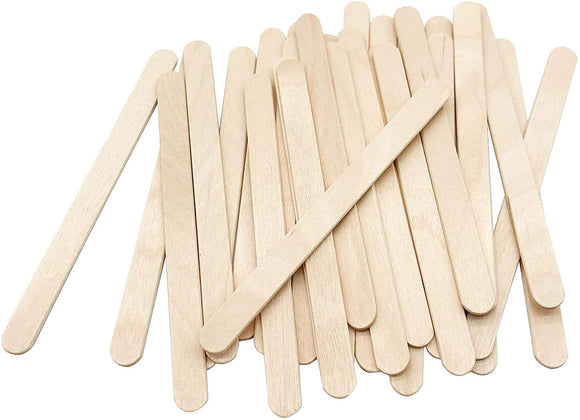 Mixing & Applicator Wooden Sticks