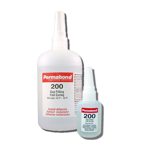 Permabond 200 Instant Adhesive-Fast-Set Thick General Purpose, Great for Plastic & Rubber