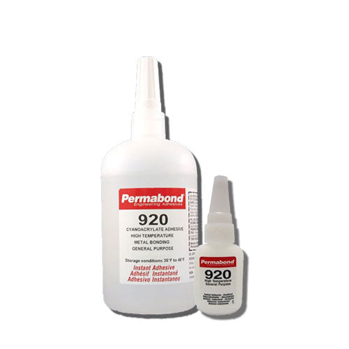 Permabond 920  Instant Adhesive-Fast-Set, Thin Viscosity, 2-Step High-Temp Resistant