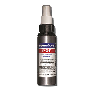 Permabond POP Plastics Primer for for Instant CA Adhesives (for bonding with Polyolefins, PTFE, Polyethylene, Polypropylene, and Difficult Plastics)