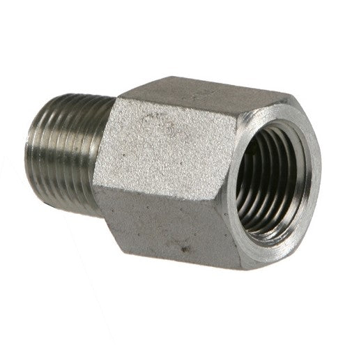 Air Hose & Pipe Reducer Fitting 1/8 NPT male TO 1/4 NPT female