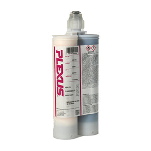 Plexus MA530 (53000 Gray & 53500 White) Non-Sag Gel, 30-Minute MMA Adhesive for Metals & Composites