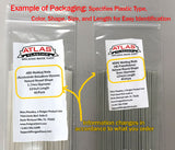 Variety Packs - Plastic Welding Rods & Coils - Natural Colors (PVC HDPE PP ABS)