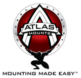 Atlas Mounts No-Drill, High-Strength Mounting Kit for Shop Equipment, Stands, Air Compressors, Grinders, Tables