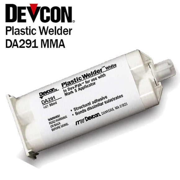 Devcon Plastic Welder White DA291 - High-Strength Toughened MMA Adhesive