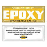 "Hardman Double Bubble ""Yellow Label"" Machineable Epoxy #04002"