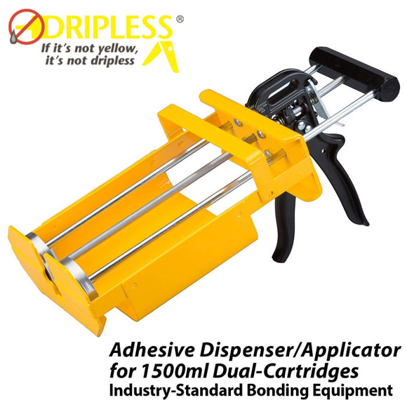 Dripless DC1500 2-Part Universal Dispenser for 1500ml (50oz) 1:1 ratio cartridges