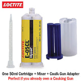 Loctite EA (Hysol) E-05CL Fast Setting Crystal Clear Epoxy Gel (Thixotropic)