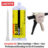 LOCTITE EA (Hysol) E-30CL 30-Minute Low Viscosity Crystal Clear Epoxy