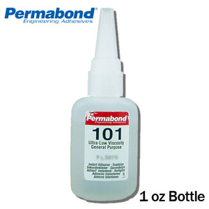 Permabond 101 Instant Adhesive-Thin Wicking, Great for Plastic & Rubber