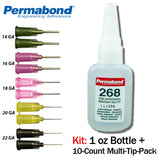 Permabond 268 Instant Adhesive-Fast-Set,-Gap Filling for Difficult Plastics & Rubbers