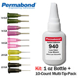 Permabond 940 Instant Adhesive-Low Odor, Non-Frosting Non-Fogging Clear Thin Wicking