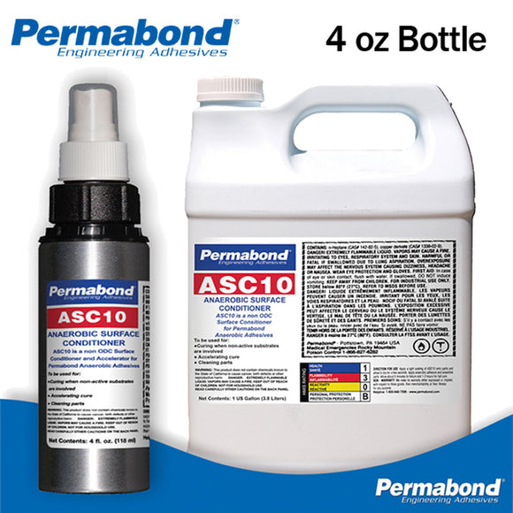 Permabond ASC10 Anaerobic Surface Conditioner & Accelerator for Threadlockers