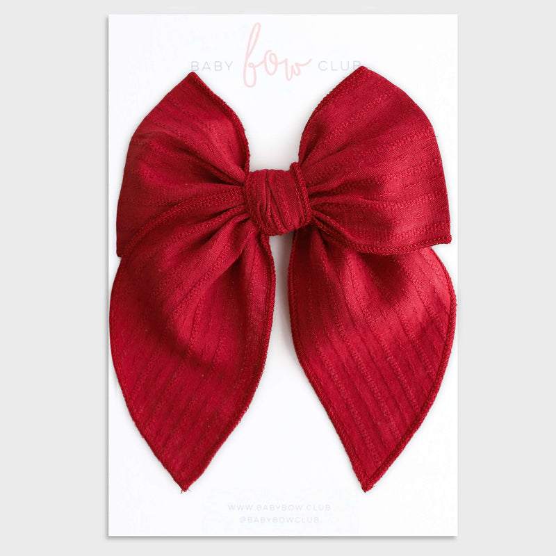 Berry Red // Lola Bow