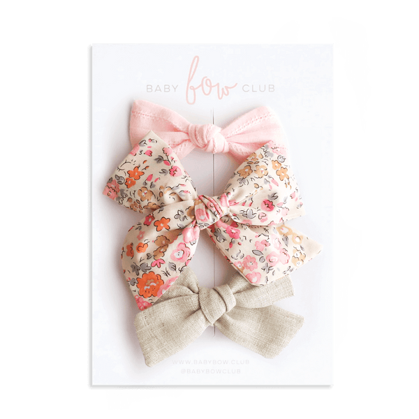 Baby Bliss // Bow Set