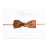 Russet // Leather Knot Bow