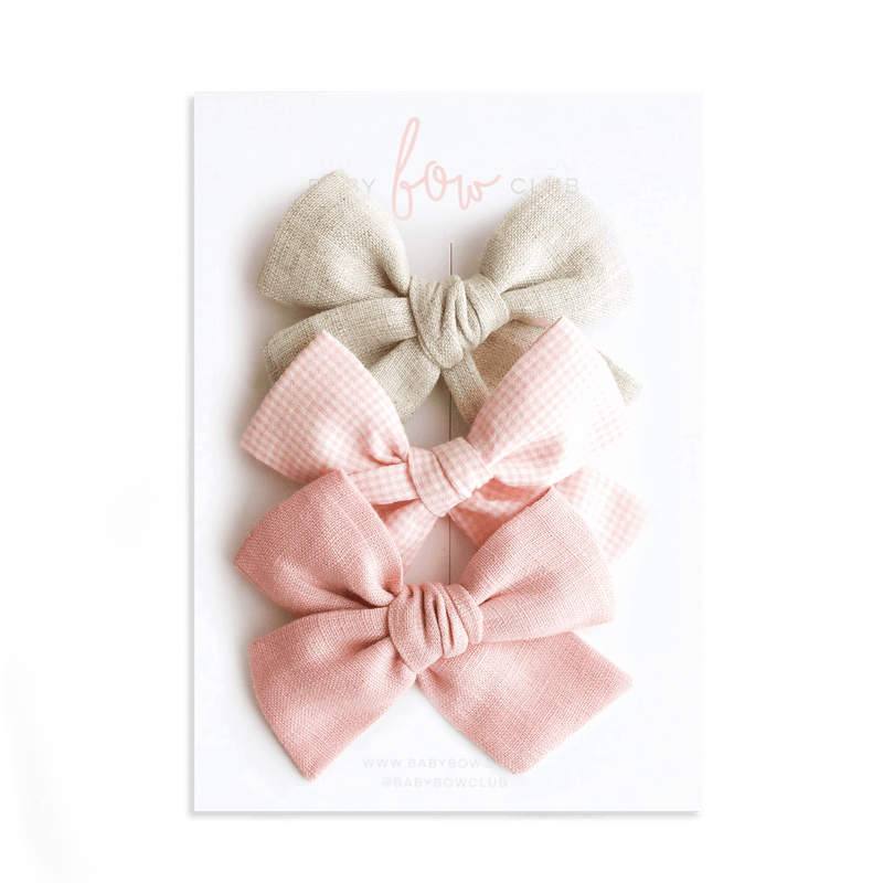 Cottage Pink // Bow Set