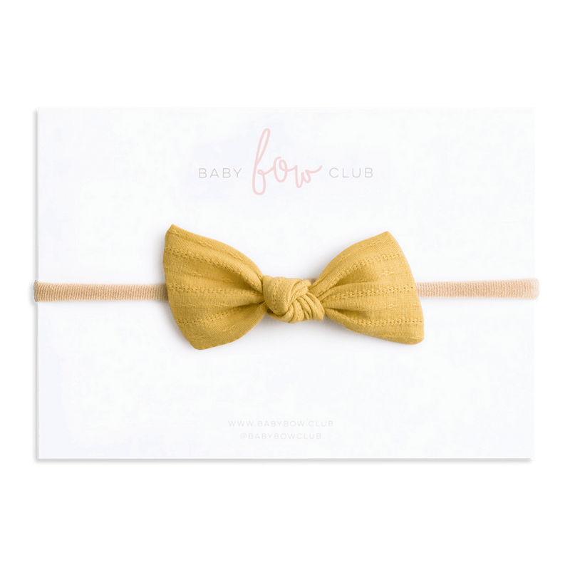 Bumblebee // Knot Bow