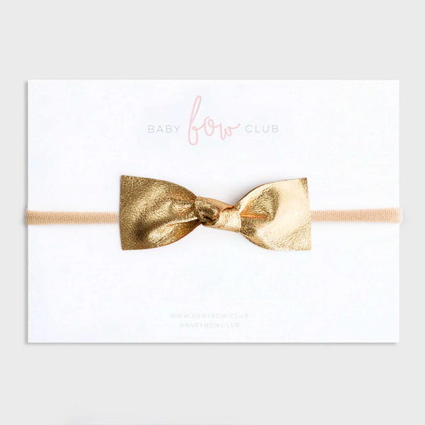 Tinsel // Leather Knot Bow