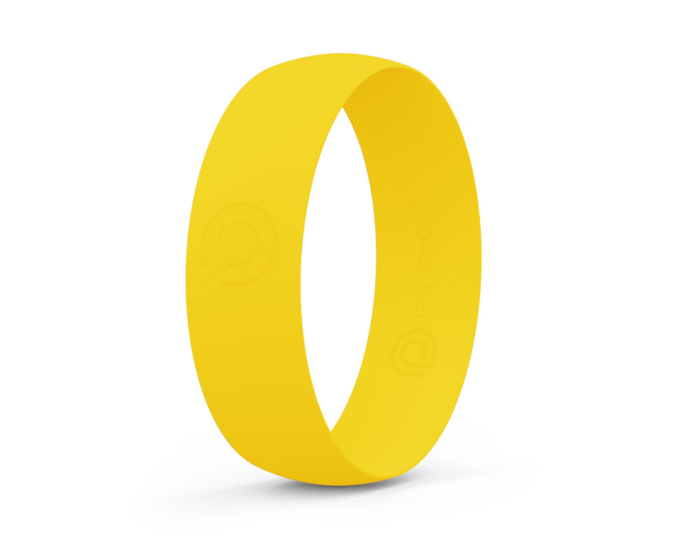 TOE RING - BRIGHT YELLOW