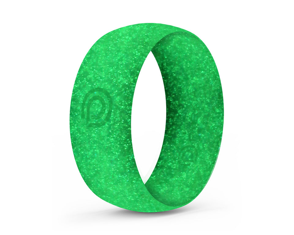 LUMINESCENCE GLOW-IN-THE-DARK SILICONE RING