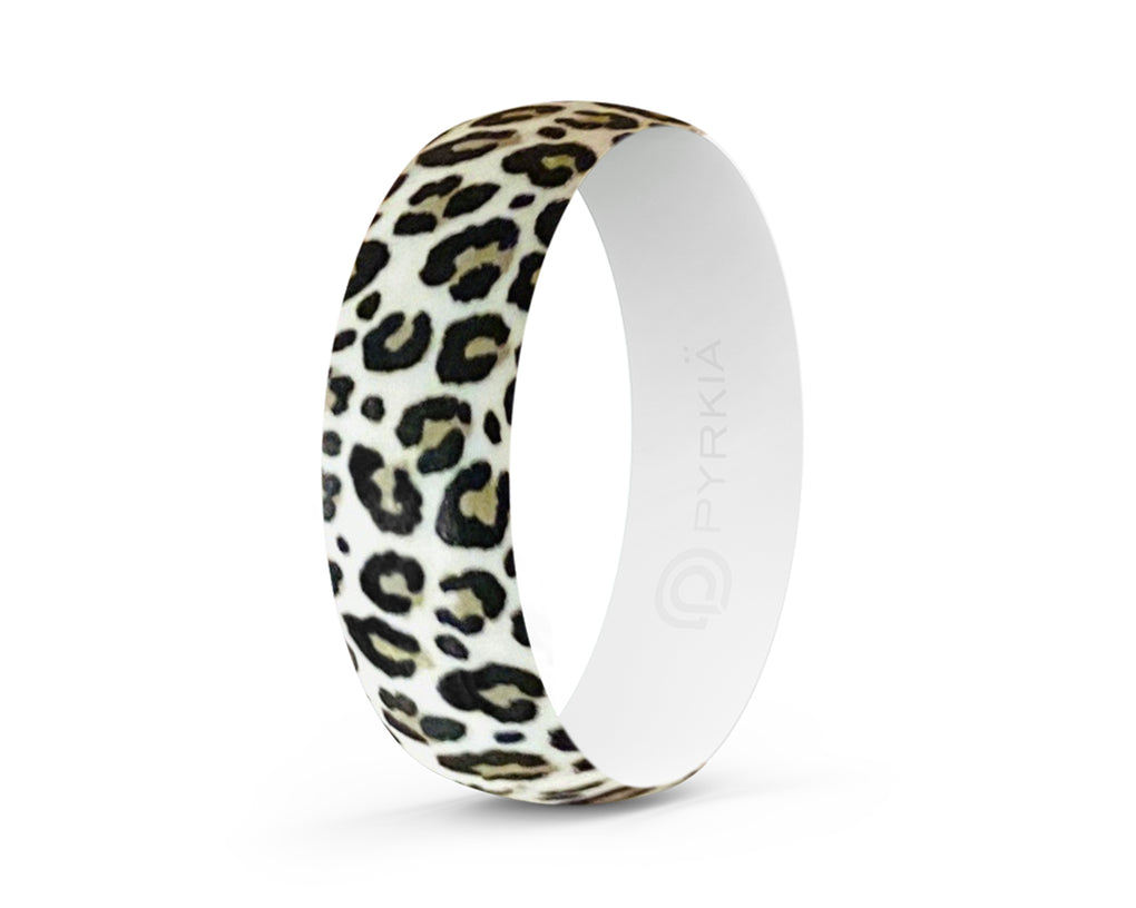 LEOPARD SILICONE RING