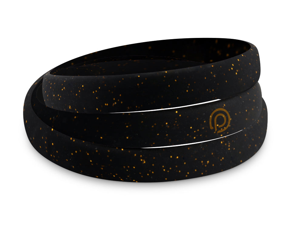 NIGHT STAR GOLD SILICONE WRAP