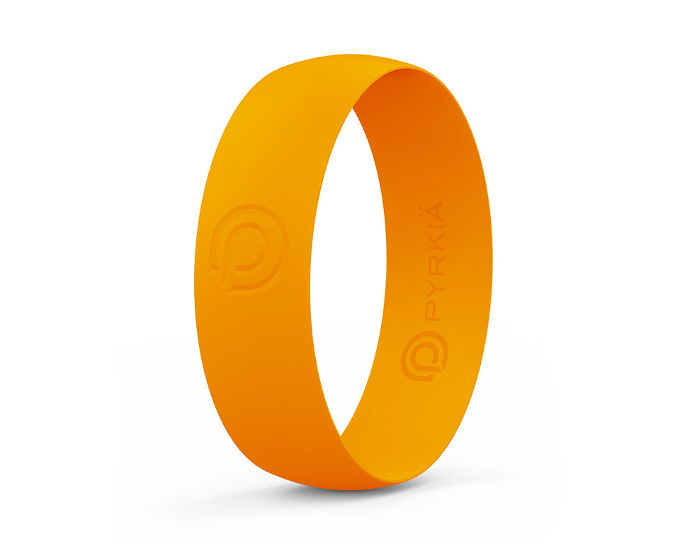 ORANGE SILICONE RING