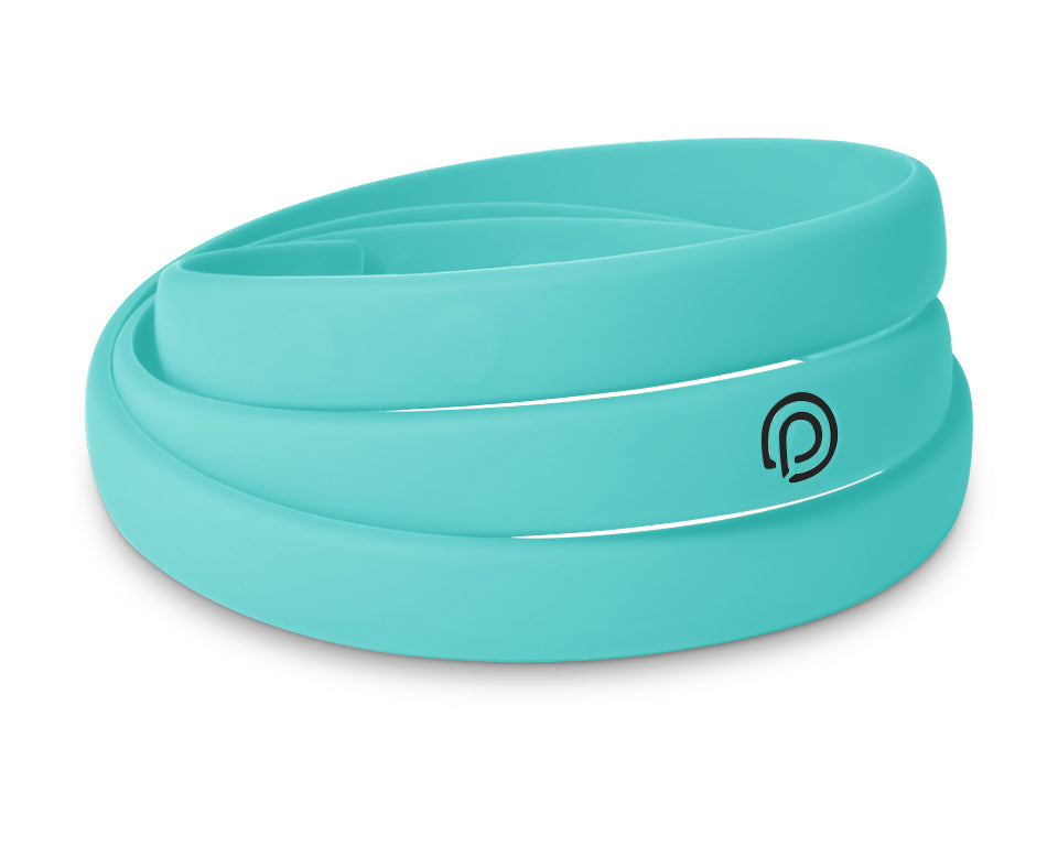 TURQUOISE SILICONE WRAP