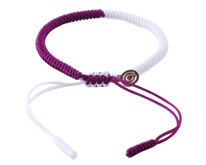 LUCKY ROPE BRACELET - SUGARPLUM