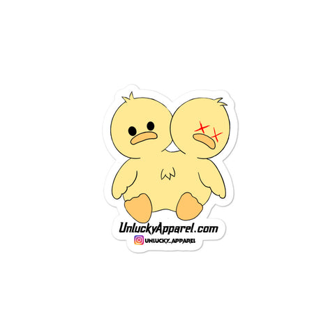 Unlucky BB Duckling Stickers