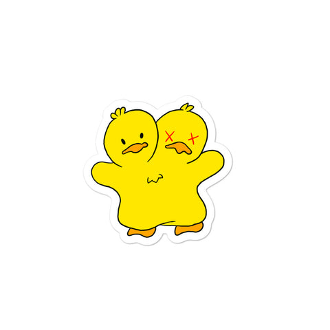 BB Duck stickers