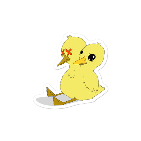Unlucky Duckling stickers