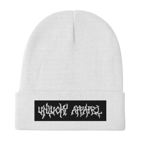Unlucky Apparel Embroidered Beanie