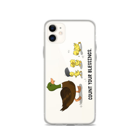 Count Your Blessings iPhone Case