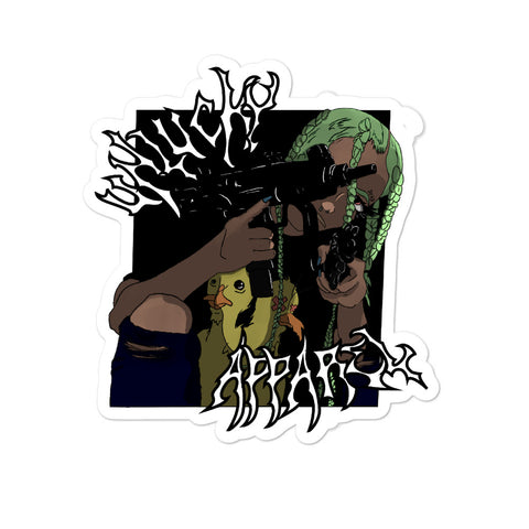 Uzi BB stickers