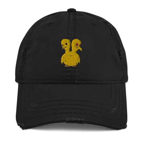 Unlucky Duckling Distressed Dad Hat