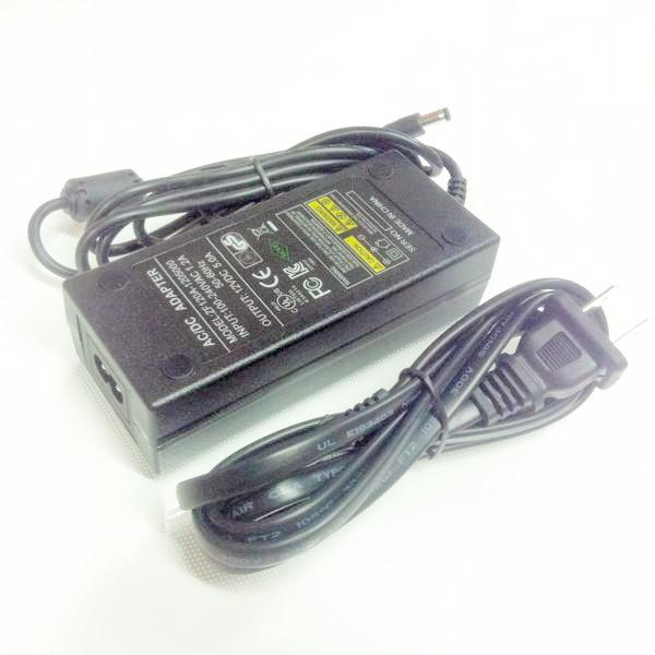 "AC/DC Power adapter with US cord  power supply for 18"" and 12"" Ring light"