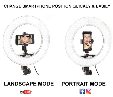 ring light camera smart phone accessories light kit