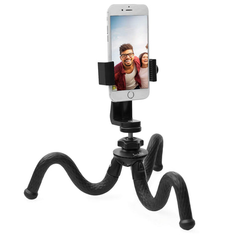 Socialite Bendable Tripod with Rotating Smartphone Mount