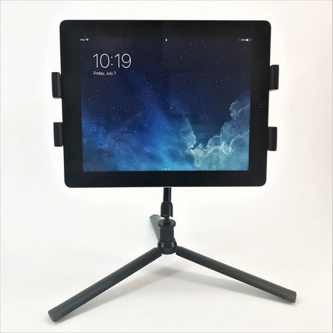 Socialite Tabletop Tripod and Large iPad Tablet Mount with Articulating Arm